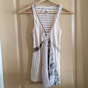 Vintage Anthropologie Tank by Tiny